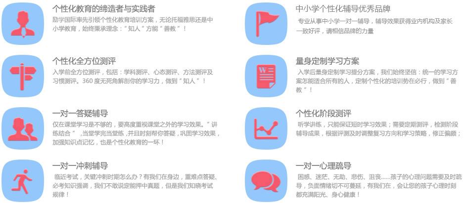盘锦励学国际初中一对一补习班课程